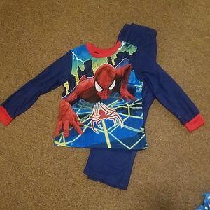NWOT spiderman pajamas boys pjs
